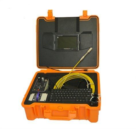 MABELSTAR Pipe video inspection camera manufacturer! 30m fiberglass push rod chimney inspection camera ()