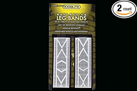 Reflective Band By Jogalite Pair Made With Genuine Reflexite in America