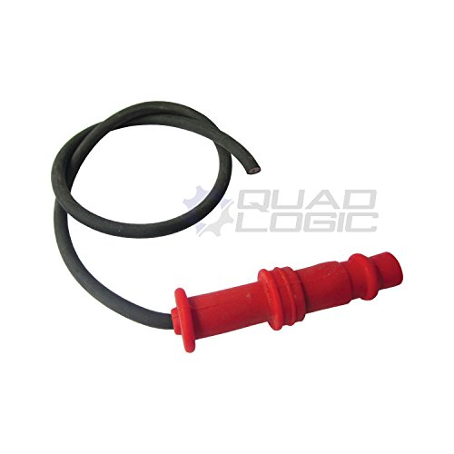 Polaris Ranger 400 500 UTV Ignition Coil Spark Plug Cap and Wire - 3084980 ()