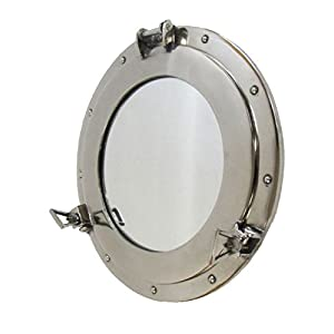 41%2BJWILxrqL._SS300_ 100+ Porthole Themed Mirrors For Nautical Homes For 2020