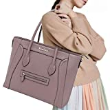 Laptop Bag for Women,14-15.6 Inch Laptop Tote Bag Work Briefcase Office Business Computer Bag(2014-purple)
