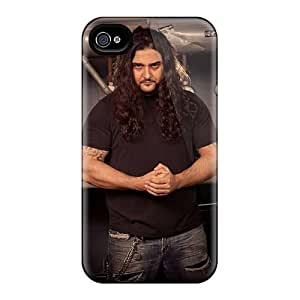 AshleySimms Iphone 4/4s Shock Absorbent Hard Phone Cover Unique Design Trendy Kataklysm Band Skin [gKH1327bXRh]