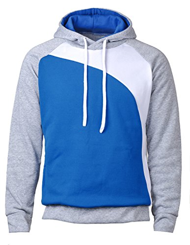 Mooncolour Men's Casual Pullover Long Sleeve Hoodies Outwear (US X-Large, Type XE) ()