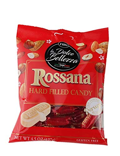 Fida Hard Filled Italian Candy, 4.5 Ounce (Rossana)