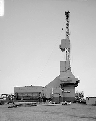 Historic Photo   Bp Facilities  Endicott Site  Prudhoe Bay  North Slope Borough  Ak 5 Photograph 18In X 24In