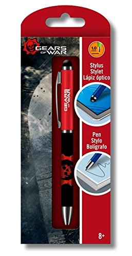 Gears of War Ballpoint Click Pen and Stylus Combination Gear Stylus
