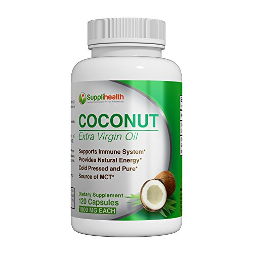 MCT Organic Coconut Oil Supplement Certified Pure Organic Extra Virgin 1000mg Cold Pressed and Unrefined Rich in Antioxidants Prevent Premature Aging Boost Energy All-Natural NON GMO Softgels Review