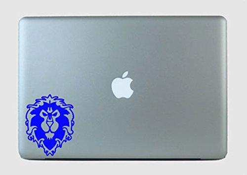 SimplyVinylized Alliance Crest Inspired by World of Warcraft Vinyl Decal Sticker Blue ()