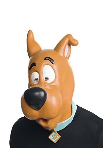 Rubie's Costume Co Men's Scooby-Doo Overhead Latex Mask, Multi, One Size (Scooby Doo For Adults)