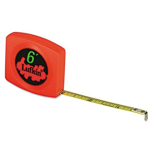 Lufkin Pee Wee Pocket Measuring Tape, 10ft (LUFW6110)