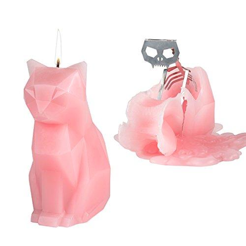 PyroPet Candles Kisa Candle, Pink