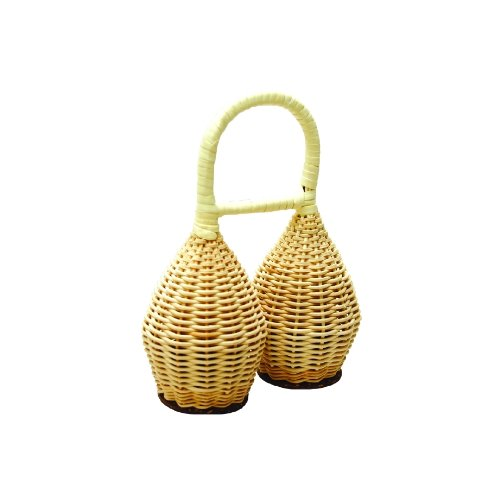Rattan Double Shaker (Tycoon Percussion Double Rattan Shaker)