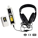 all-sun Ultrasonic Leak Detector & Transmitter Air Water Dust Leak Pressure with Headphone Accessory Kit LED Indication