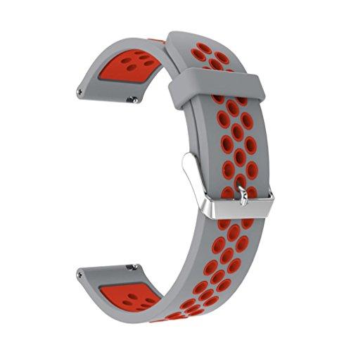 Becoler Banda de reloj de repuesto Quick Fit Easy Fit para Samsung Gear Sport