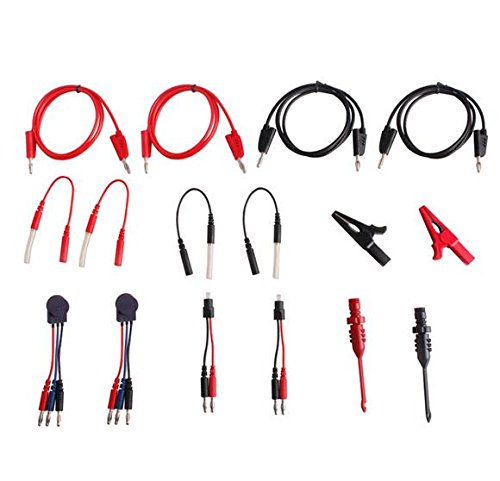 ICARSCANNER NEW Multi Function Automotive Circuit Tester Lead Kit Contains 92 Pieces Of Essential Test Aids & Test Lead & Electrical Testers & Auto Diagnostic Tools Wire Connectors Adapter Cables by ICARSCANNER (Image #3)