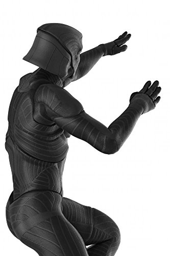 Wallmonkeys WM250800 Black Vilan Attack Back View Peel and Stick Wall Decals (24 in H x 16 in W)