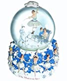 Nutcracker Ballet Gifts Snow Scene Musical Snowglobe Plays Dance of the Snowflakes by Tchaikovsky