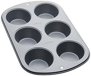 Wilton Recipe Right 6 Cup Regular Muffin Pan