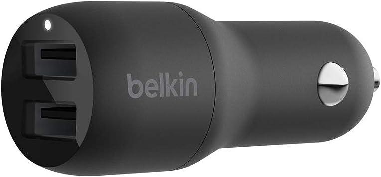 Belkin 2 Port Usb Car Charger 24w Iphone 12 12 Pro Elektronik