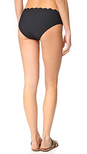 Kate Spade New York Women's Marina Piccola Hipster Bikini Bottoms, Black, Medium