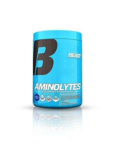 Beast Sports Nutrition, Aminolytes Advanced Amino Matrix, Dismal Raspberry, 14.67 Ounce by Beast Sports Nutrition