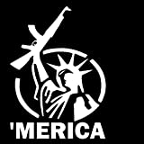 ak47 window decal - Statue of Liberty AR15 AK47 'MERICA Window Decal