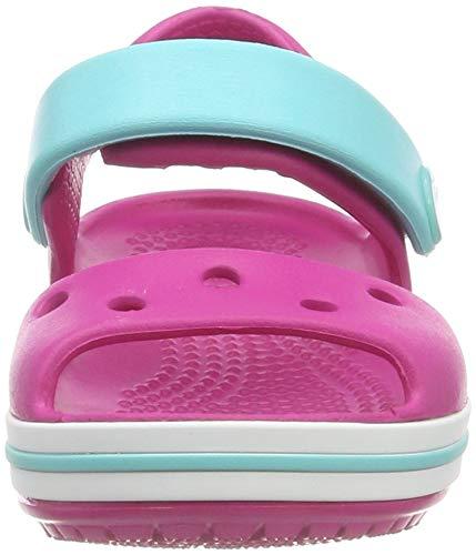 Rose Enfant 6lh Kids Sandales Crocband pool candy Crocs Mixte Pink Ouvert Bout xHWq4xnS7