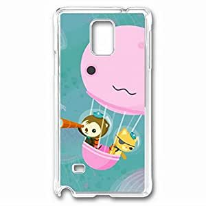 iCustomonline The Octonauts Designs Case Back Cover for Samsung Galaxy Note 4