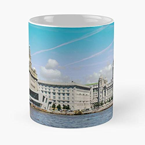 - Liverpool Cunard Building Liver Port Of - White -coffee Mug- Unique Birthday Gift-the Best Gift For Holidays- 11 Oz.