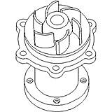 6599948 New Skid Steer Loader Water Pump w/ Gasket made to fit Bobcat 843