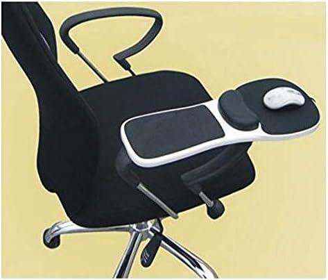手首サポート付きマウスパッドフリットレスト人間工学に基づいた調整可能なアームレストリストレストのみ椅子用に調整可能コンピュータアームサポートエクステンダ
