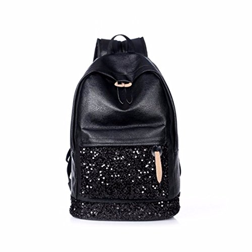 OURBAG - Bolso mochila para mujer, negro (Negro) - OURBAGwolzende1089 negro