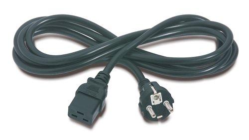APC 8FT PWR CORD SHUKO CEE-7/EU1-16P TO IEC 320 C19 (AP9875) - Apc 8' Power Cords