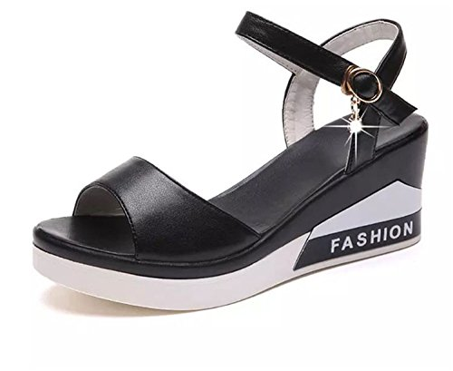 Light Sandals 2 Summer Gladiator 8 Wedges Soft Colors white Weight Women Sandals Heels 2018 Dressed Platform 7Ux4q4w