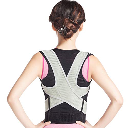 WYNZYYX Humpback Correction Belt, Child Adult Anti-Humpback Male and Female Middle School Students Posture Sitting Posture Back Spine Correction (Size : M (Waistline:60-70cm)) (Medical Schools That Accept High School Students)