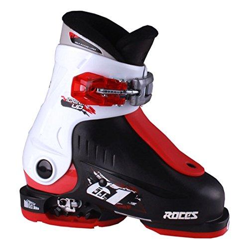Roces 2016 Idea Adjustable Black/White/Red Kids Ski Boots 16.0-18.5