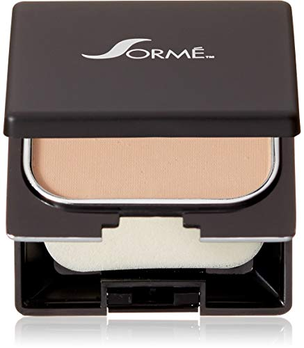 Sorme Cosmetics Believable Finish Powder Foundation, Pure Beige, 0.23 Ounce