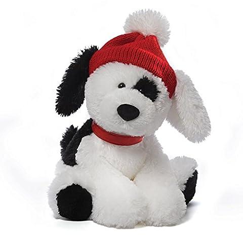 Gund Spotee Dog White with Black 10
