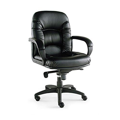 Alera Nico Mid-Back Swivel/Tilt Chair - Black