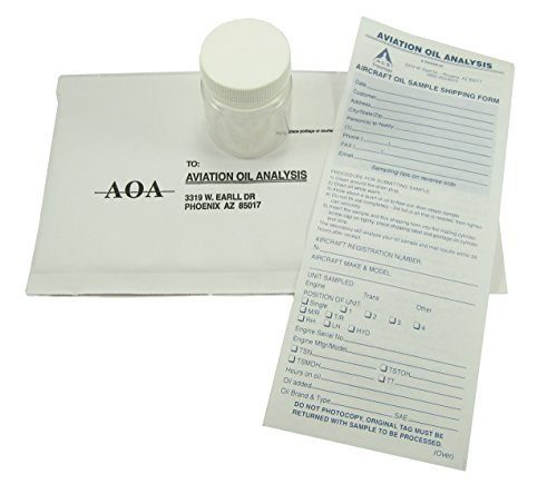 A.O.A. Aviation Engine Oil Analysis Kit - Aircraft Owners Pilots