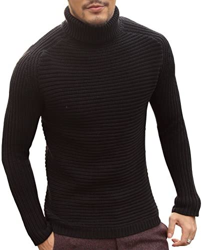 [ミックスリミテッド] タートルネックニット ニット メンズ ハイケージ トップス セーター カーディガン