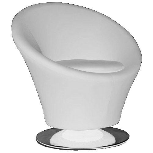 K&D Mars Occasional Chair (White)