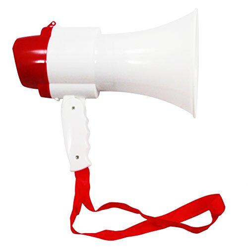 ASR Outdoor Megaphone Voice Recorder Siren Mode Audible Range 380 Yards by ASR Outdoor
