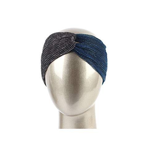 Women's Colorblock Magic Elastic Headband Summer Fresh Color Palettes Cross Knot Head Band,Dark Grey Dk - Diesel Sunglasses Red