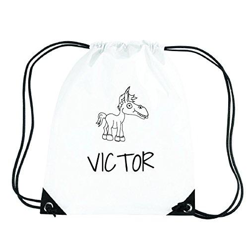 JOllipets VICTOR Turnbeutel Sport Tasche PGYM6011 Design: Pferd w1h46Eku