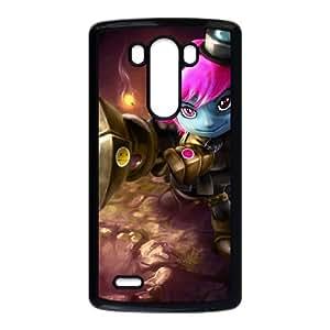 LG G3 Cell Phone Case Black Tristana league of legends Hiwqo