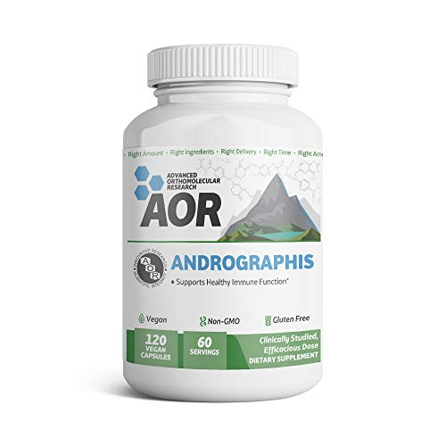 AOR - Andrographis, V-Caps, 120 Count