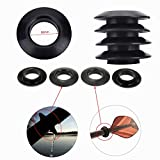 2-Piece Kayak Paddle Drip Rings Universal Fit Keeps Your Kayak Paddle Shaft / Your Hands Dry