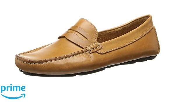 88439ea0700 Amazon.com  Massimo Matteo Penny Keeper Tan Bison Women s Moccasin Shoes   Everything Else