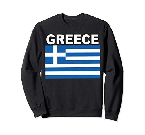 - National Flag of Greece Sweatshirt